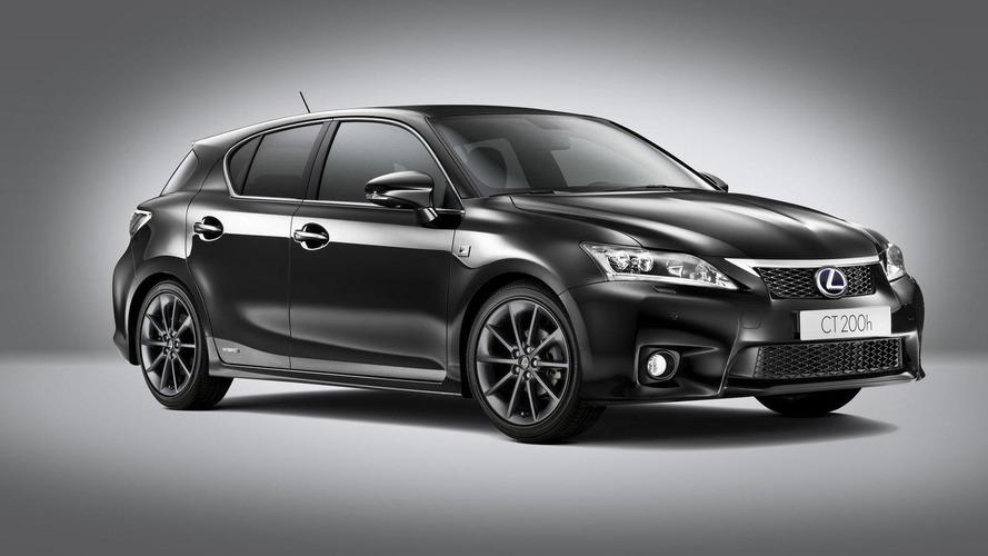 2012 Lexus CT 200h F-Sport announced for U.K.