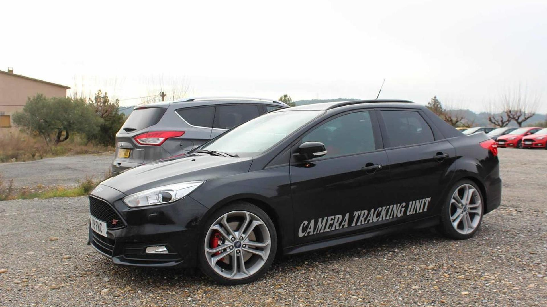 ford focus st turnier turned into a pick up camera car. Black Bedroom Furniture Sets. Home Design Ideas
