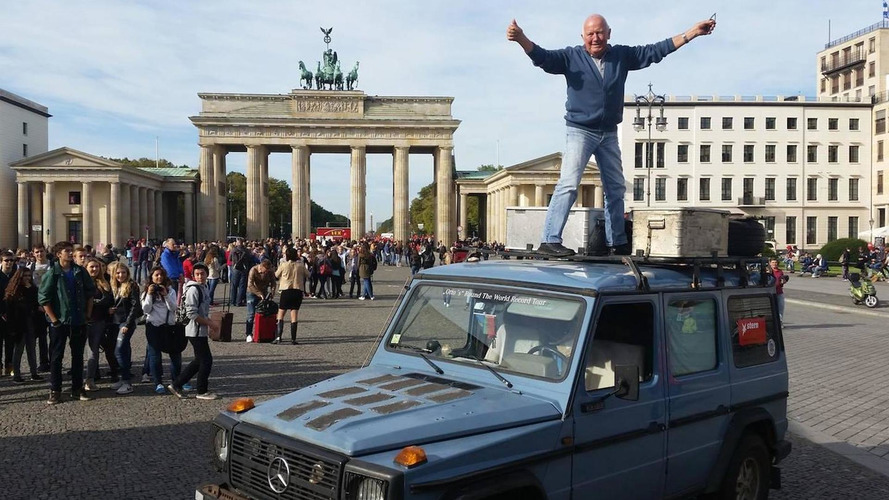 Mercedes-Benz G-Class finishes world tour after almost 26 years, 215 countries and 890,000 km