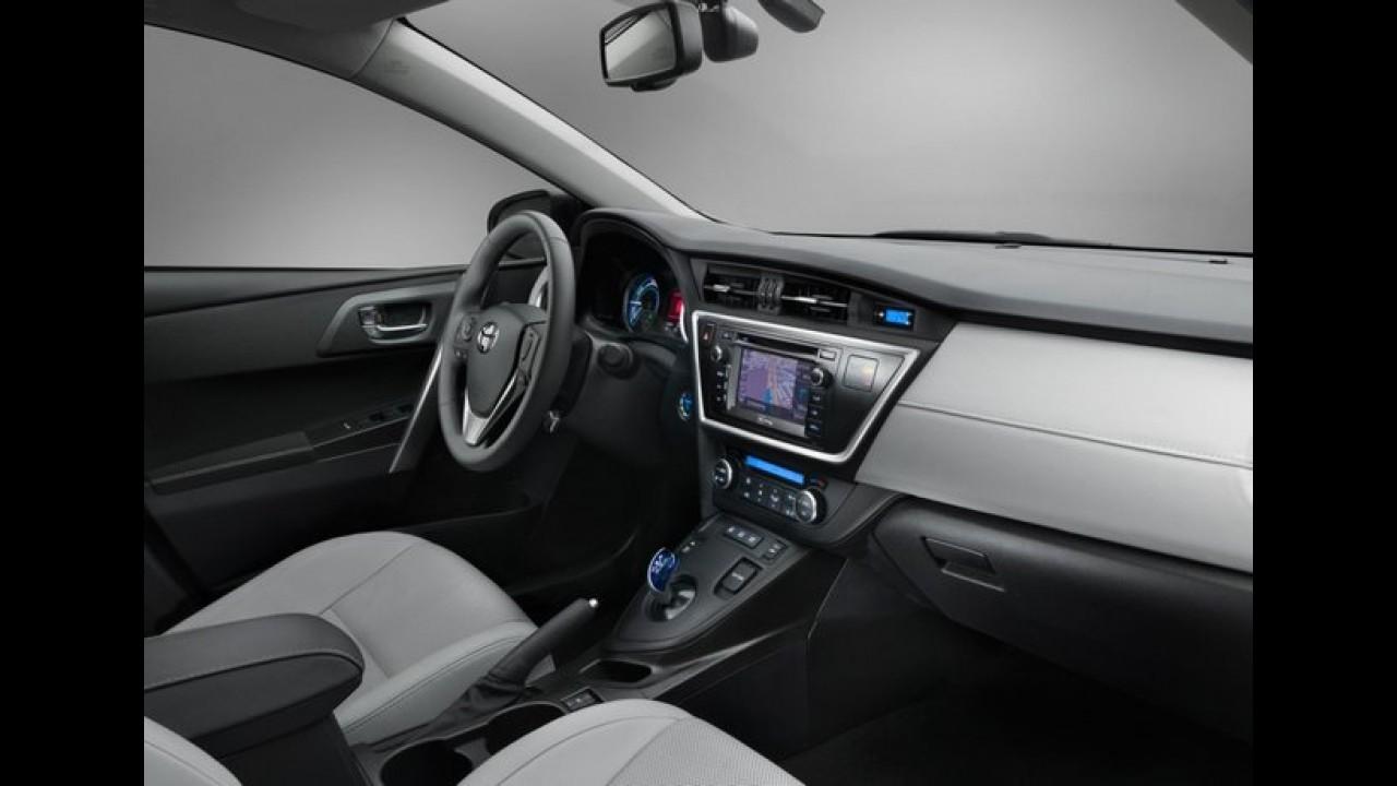 Oficial: Toyota Auris 2013 - Veja as fotos e os detalhes