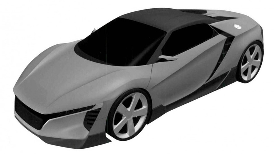Possible Honda S2000 patent images