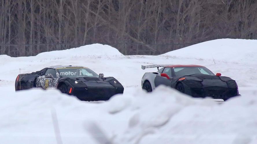 Chevrolet mid-engine Corvette and ZR1 Spy Photos