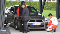 2012 Nissan GT-R facelift caught completely uncovered