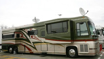 Only Rosberg with own motor home in Turkey