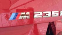 BMW M235i Coupe leaked from dealer presentation