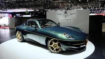 Touring Superleggera delivering Alfa Romeo Disco Volante in Geneva [video]