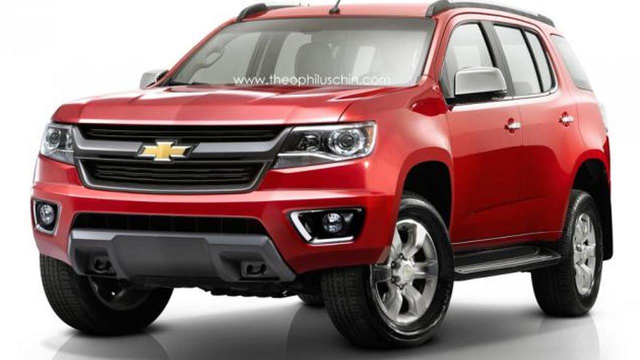 Chevrolet TrailBlazer US-spec rendering 11.12.2013