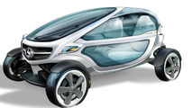 Mercedes-Benz envisions golf cart of the future