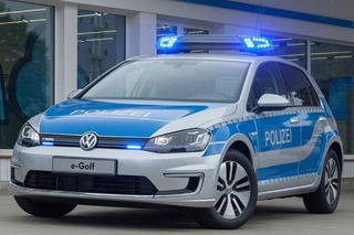 German Police Going Green with Volkswagen e-Golf
