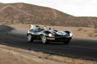 "Exceedingly Rare 1-of-6 Jaguar ""Long Nose"" Races to Auction"
