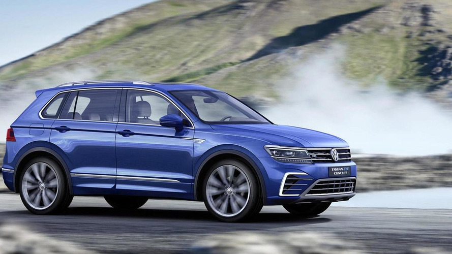 Volkswagen Tiguan GTE plug-in hybrid concept breaks cover with 218 PS and 50 km electric range