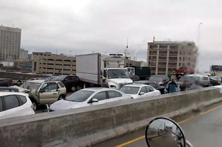 The Massive Worcester, Ma. Car Crash, and the Dangers of Black Ice
