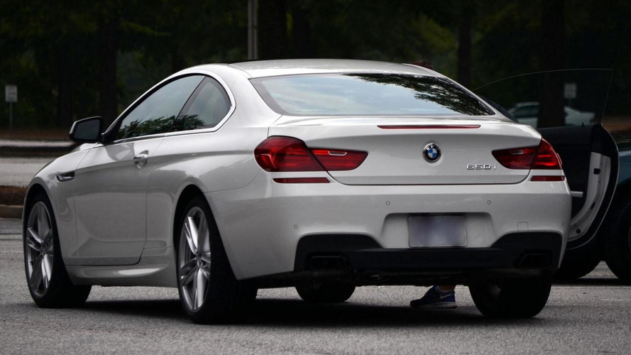 2012 BMW 6-Series with M Pack caught in public