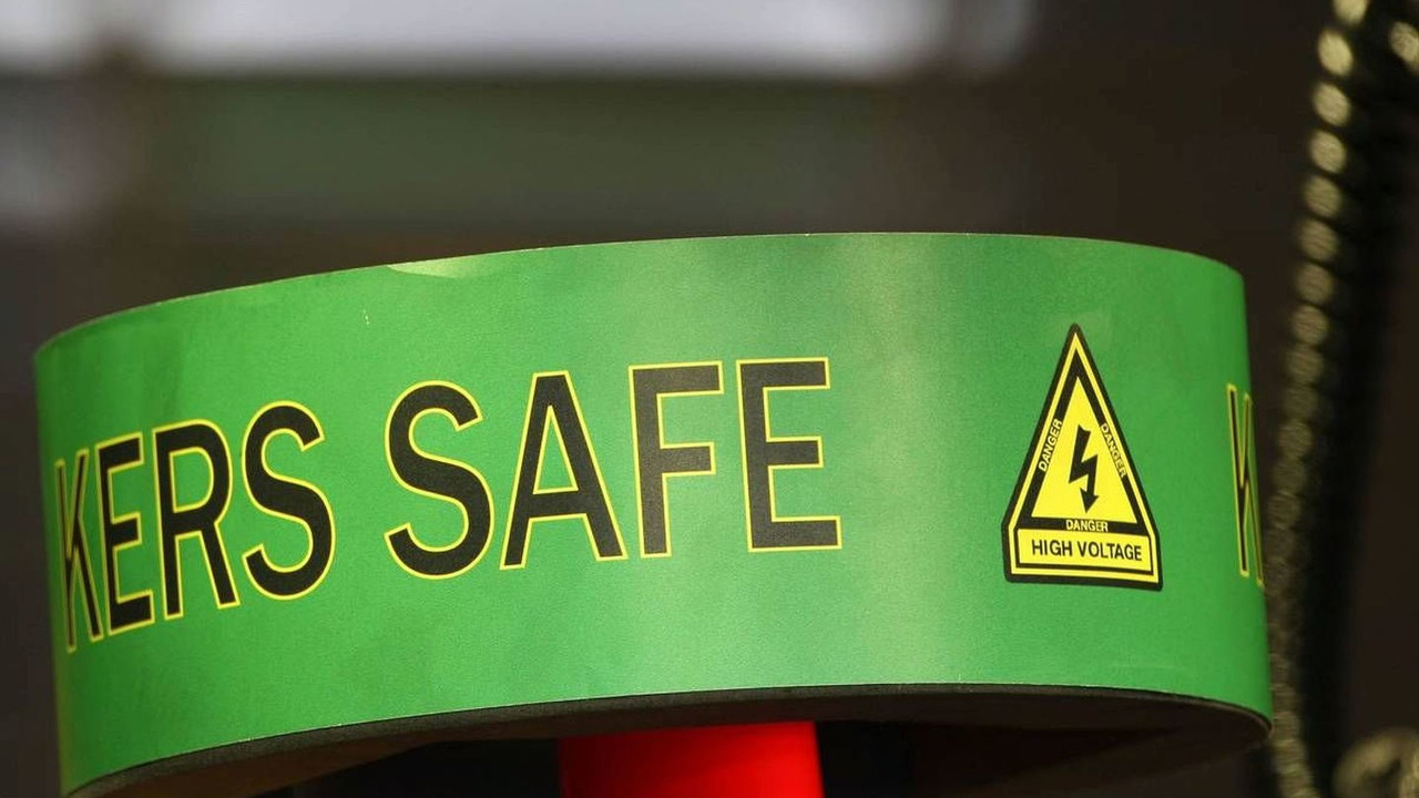 13.02.2009 Jerez, Spain, KERS SAFE sign on top of the Red Bull Racing, RB5 - Formula 1 Testing