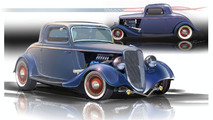 1934 Ford 3-Window Coupe with EcoBoost engine - SEMA 2009