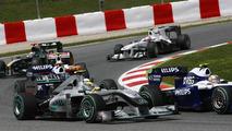 Mercedes 'nowhere' despite Spain updates - Rosberg