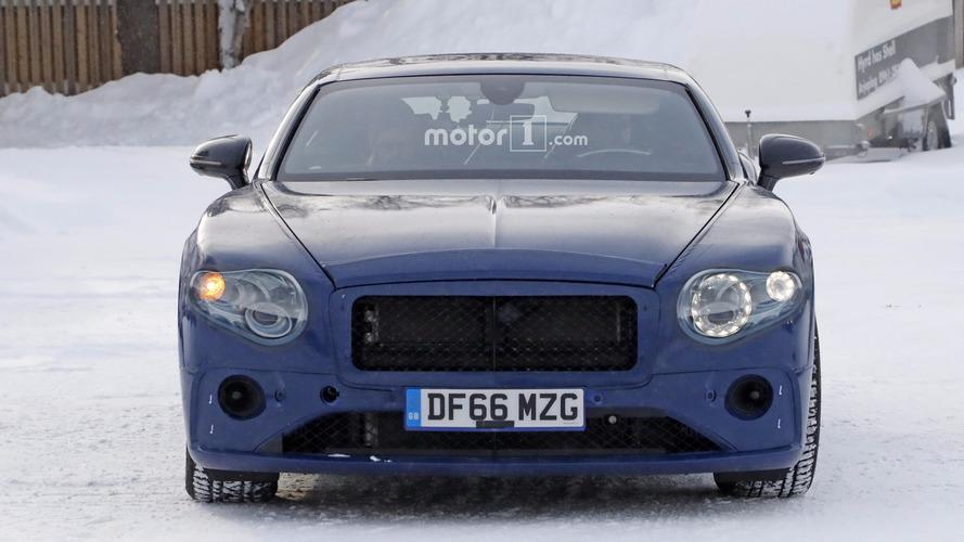 2018 Bentley Continental GT photos espion