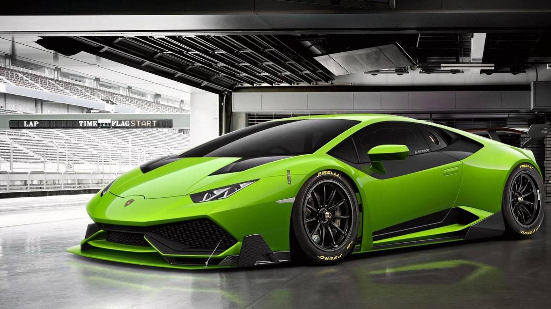 Lamborghini Huracan Super Trofeo gets rendered
