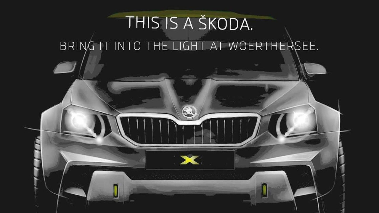Skoda Yeti concept teaser (modified)