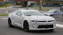 2016 Chevrolet Camaro spied with less disguise