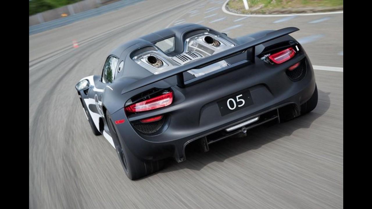 porsche 918 spyder hybrid ser lanado em breve mais de 780 cv e consumo - Porsche 918 Exterior