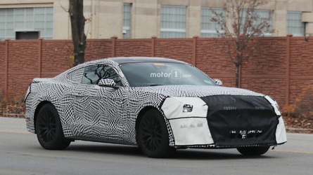 2018 Ford Mustang GT Coupe Spy Shots