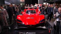 Mazda RT24-P Prototype races into the Los Angeles Auto Show