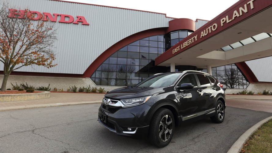 2017 Honda CR-V production gets rolling in Ohio