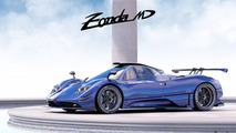 Another one-off Pagani Zonda revealed as the MD