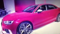 Audi RS3 Sedan will have 400 hp [video]
