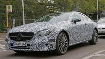 Mercedes-Benz E-Class Coupe spy photos