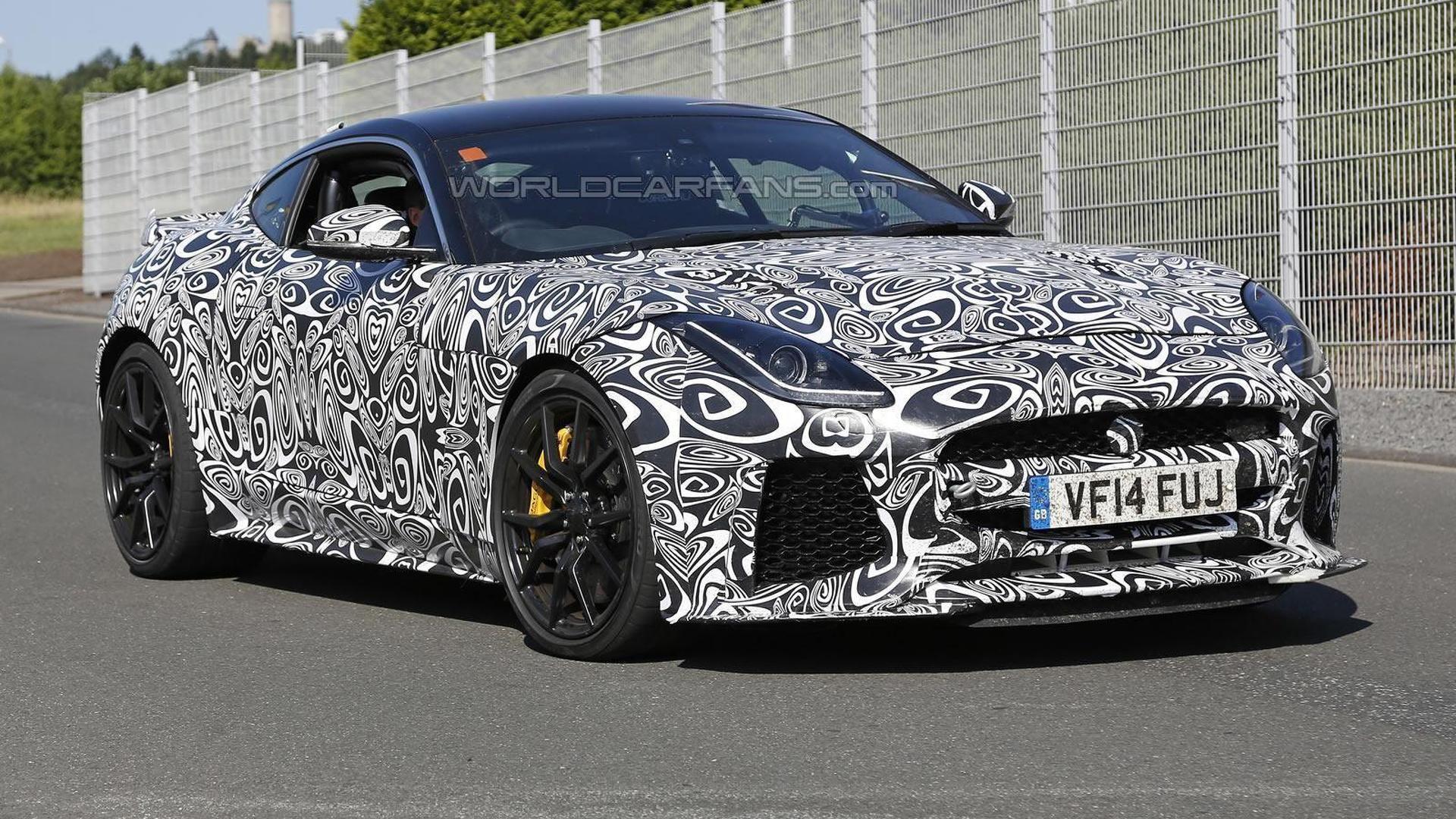 2016 Jaguar F-Type SVR returns to the Nürburgring for intense testing [video]