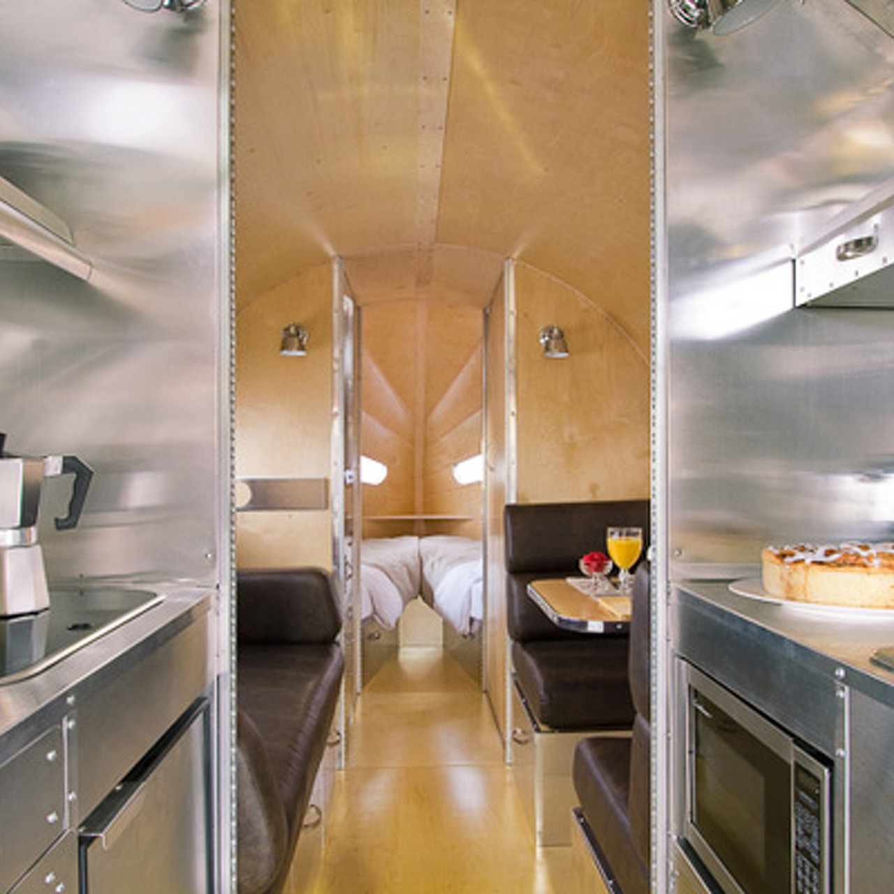 Predating Airstream: The Bowlus Road Chief Luxury Trailer