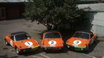 Porsche 914- 6 GT before the race Marathon de la Route (1970)