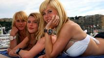 girls in Monaco in the harbour - Formula 1 World Championship, Rd 6, Monaco Grand Prixin
