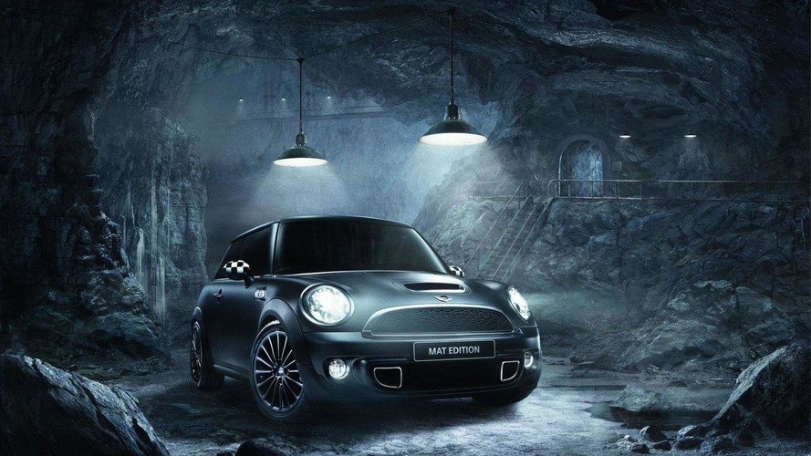 MINI Cooper Matt Edition announced (France)