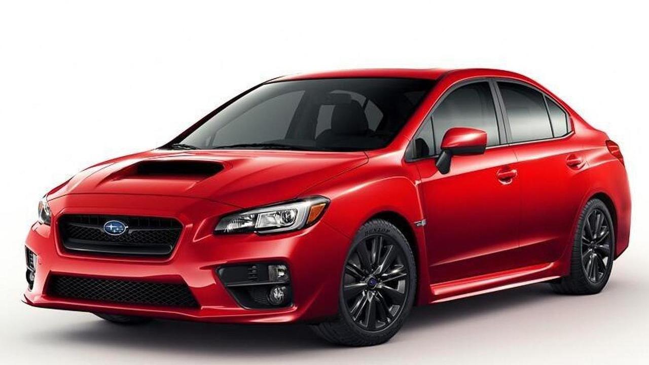 2015 Subaru WRX (not confirmed)