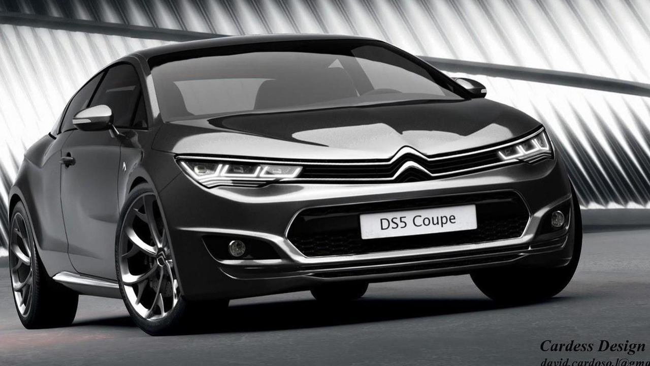 Citroen DS5 Coupe render/ David Cardoso