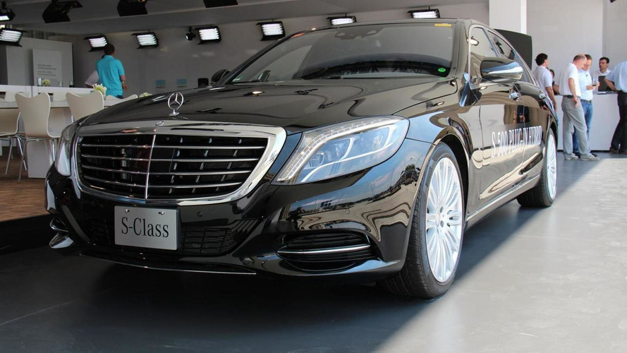 2014 Mercedes S500 Plug-In Hybrid revealed ahead of Frankfurt debut