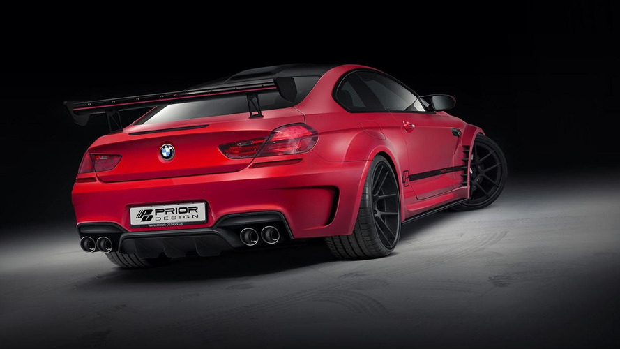 Prior Design previews their BMW M6