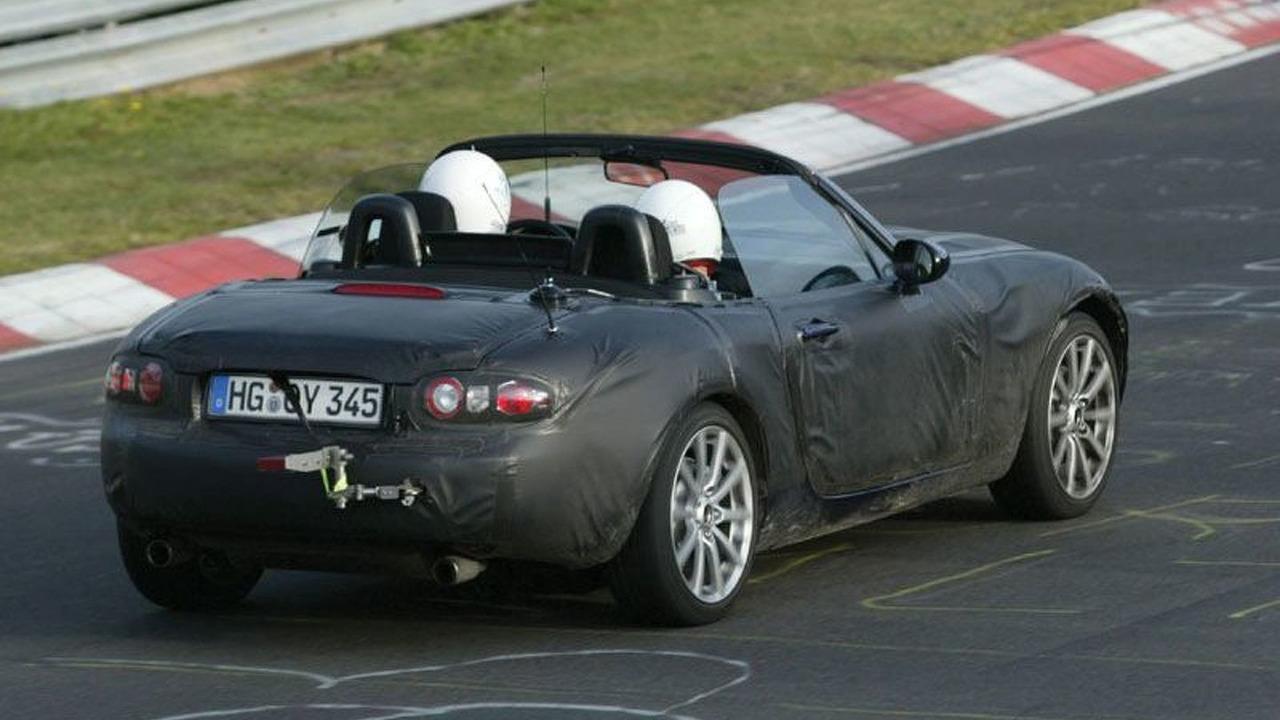 Mazda MX-5 Spy Photo at Nürburgring