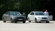 Mercedes C-Class - Old and New Spy Pics