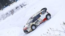 Mads Ostberg and Jonas Andersson, Citroen DS3 WRC, Citroen Total Abu Dhabi World Rally Team