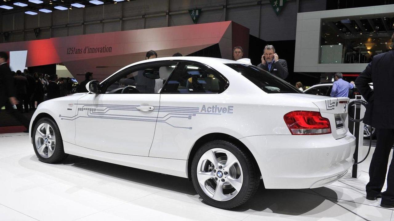 2012 BMW ActiveE live in Geneva - 01.03.2011