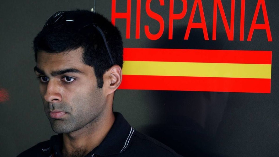 No practice means no GP debut for Chandhok