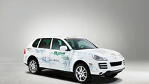 Porsche Cayenne concept improves fuel economy and CO2 emissions by 10 percent
