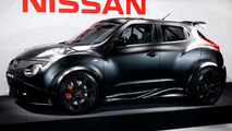 Nissan Juke-R unveiled to an audience in Spain