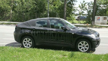 BMW X6 spy photos in Munich