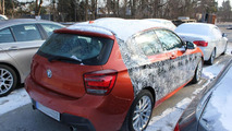 BMW M135i xDrive caught completely undisguised