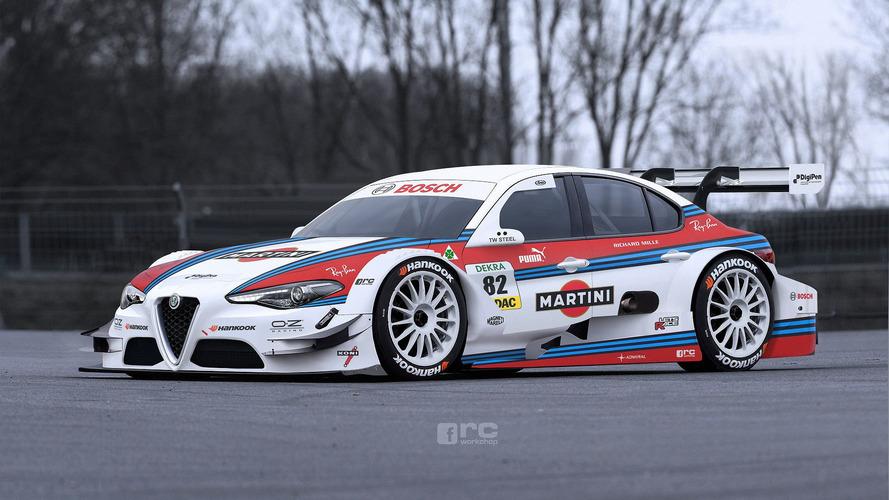 Alfa Romeo Giulia would be a Martini Racing DTM dream car